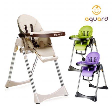 아이슬라이드 아기 식탁의자 1입 하이체어 퍼플
