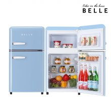 RD09ASBH / 하이마트 설치! 벨 레트로 냉장고 90L 1등급