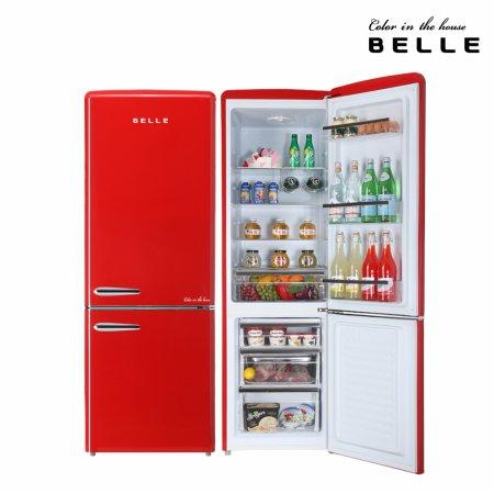 하이마트 설치! 벨 레트로 냉장고 270L 1등급 / RC27ARD