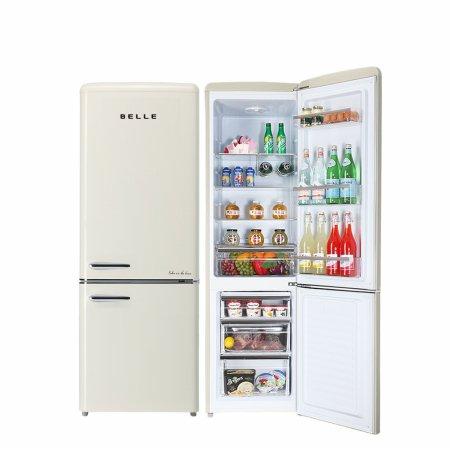 하이마트 설치! 벨 레트로 냉장고 270L 1등급 / RC27ACM