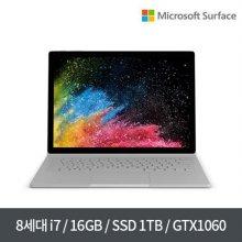 주문폭주 8월10일 이후 순차출고 / Surface Book2 38.1cm FVH-00028 / Windows 10 Pro