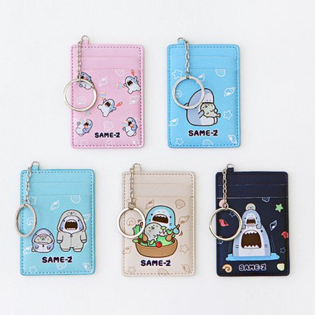 사메즈 교통카드 케이스 [카드케이스/카드포켓/열쇠고리/키링] Mint