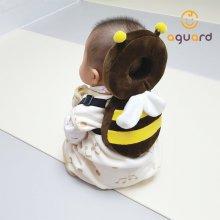 아이쿵 아기 머리쿵 방지 쿠션 1입 유아 보호대 꿀벌