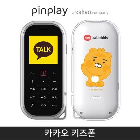 [핀플레이/선불폰]카카오키즈폰 3G [선불3개월][화이트][KP-P300]