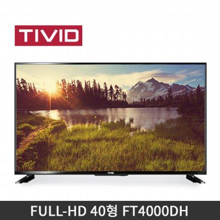 L.POINT  15,000점 증정/40형 FHD TV (102cm)  FT4000DH (스탠드 자가설치)