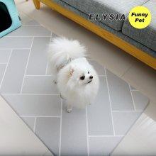 헤이미쉬 강아지매트 방수 애견매트 (대)(125*65*0.5cm)