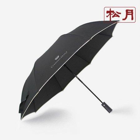 카운테스마라 2단 폰지바이어스 우산 곤색