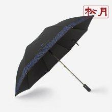 카운테스마라 2단 빗살보더65 우산 검정
