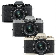 미러리스 카메라 X-T100 [ 블랙 / 본체 + 15-45mm ]