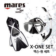 MARES X-ONE 마레스 엑스원 세트 M/L 노랑