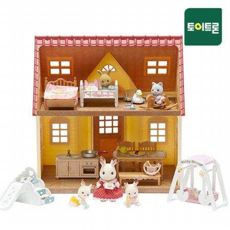 [공식] 초콜릿토끼의이층집 아기방 한아름세트 SF-06