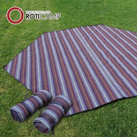 캠핑 휴대용 피크닉 육각 매트 대형
