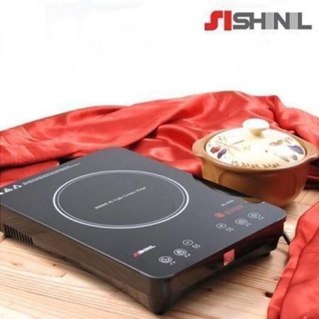 하이라이트 1구 전기레인지 SHL-KR30 [안전장치 / 보온기능 / 잔류열 표시]