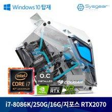 미우새에 출연한 그 PC! 인텔 코어 i7-8세대 8086k FLEX87K 커스텀 수냉PC [Window탑재PC]