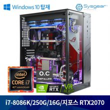 [Window탑재PC] 인텔 코어 i7-8세대 8086k LUNA87K 오버클럭 게이밍PC