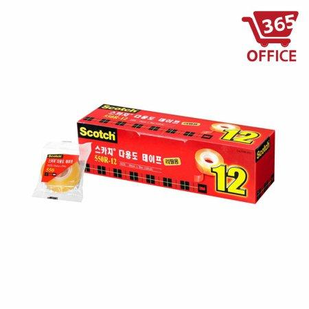 스카치 다용도리필 550R-12 1갑/12개입 (18mm)