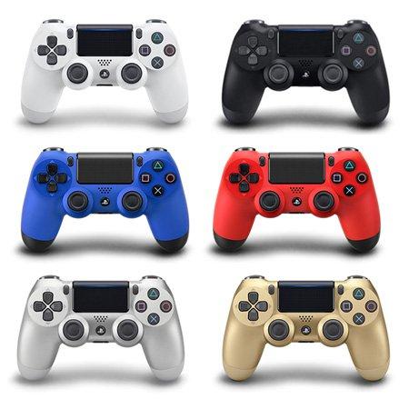 PS4 듀얼쇼크4 무선컨트롤러 [ 블랙 / 화이트 / 레드 / 블루 / 실버 / 골드 ]