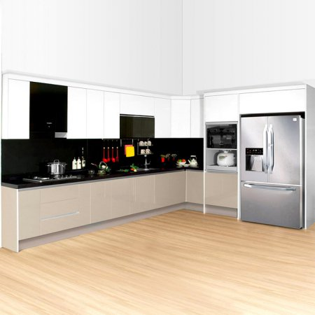 PET 실크그레이 패키지 3.4m/냉장고장필수
