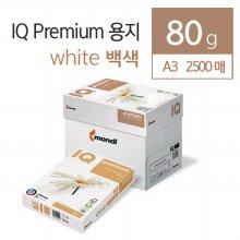 프리미엄 칼라전용지(80G) IQ A3 2500매(Premium)