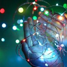 10M LED 와이어 라인조명-컬러