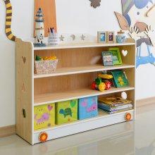 키즈수납장 유아동책장 3단 교구장 책꽂이 (CJ032)