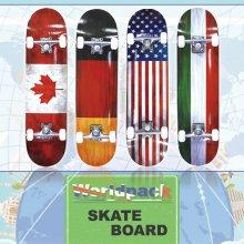 월드팩 스케이트보드 단풍나무 ABEC-7 31 고품질 _월드팩_이탈리아