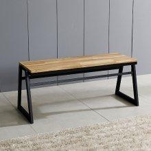 스틸 원목의자 카페의자 식탁의자 벤치의자 (JD013)