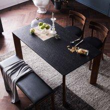 로쉬 화산석 4인식탁세트(의자/벤치)