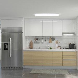 EURO9000 프리셰화이트 냉장고장형/전기쿡탑증정