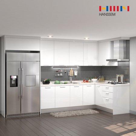 EURO 9000 리치스페셜(ㄱ자/냉장고장형/6.2m초과~6.5m이하) 상/하-리치펄화이트