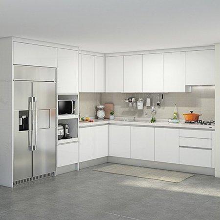 EURO 9000 프리모화이트(ㄱ자/키큰장+냉장고장형/5.9m초과~6.3m이하)