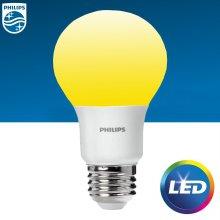 LED 9W 전구색(오렌지색) 1개입