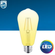 LED 필라멘트 4W 전구색 1개입