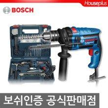 신형 650W전동드릴 GSB1300RE DIY KIT(100pcs 수공구,액세사리포함)