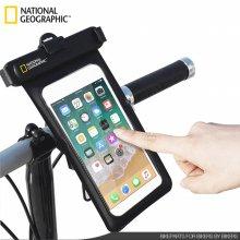 [내셔널지오그래픽] 방수팩 스마트폰 자전거 거치대