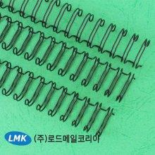 와이어링 12.7mm검정/100개 최대제본매수 100매