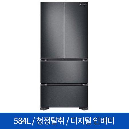 스탠드형 김치냉장고 RQ58N9322G1 (584L) 김치플러스/4도어