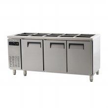 에버젠 간냉 받드테이블 1800UDS-18BIE (자가설치 배송상품)