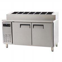 에버젠 간냉 토핑테이블 1200UDS-12PIE (자가설치 배송상품)