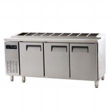 에버젠 간냉 김밥테이블 1800UDS-18GIE (자가설치 배송상품)