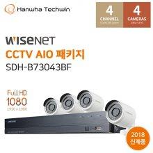 자가설치 4채널 CCTV세트 SDH-B73043BF
