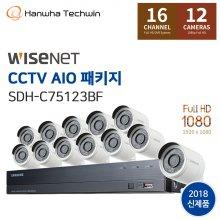 [L.POINT 20,000점 증정] 자가설치 16채널 CCTV세트 SDH-C75123BF