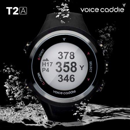 보이스캐디 GPS 시계형 T2A 거리측정기 필드용품 T2A 검정