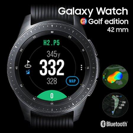 삼성 갤럭시 워치 골프에디션 GPS 골프거리측정기(42mm) (2018년 8월출시) 42mm 블랙