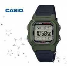 카시오 W-800HM-3A 남성 디지털 우레탄밴드 시계