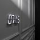 다이아몬드 화이트모던 LED 벽시계(전선길이 6.6m)