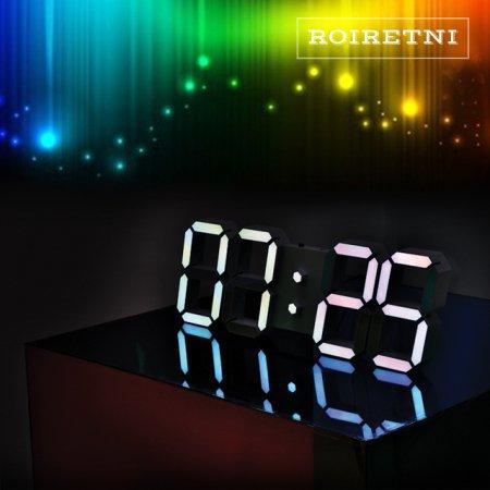 프리즘 에디션 LED 벽시계(전선길이 6.6m)