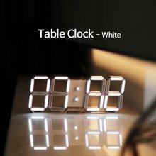 Table Clock 화이트 (전선길이 1.2m -화이트)