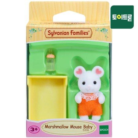 [공식] 5336-마쉬멜로 마우스 아기바구니