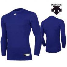 데상트 남성 컴프레션 티셔츠 S8311WCO03-블루 _95M